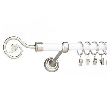 Amazonde Metall Single Gardinenstangestock 19 Mm Chrom