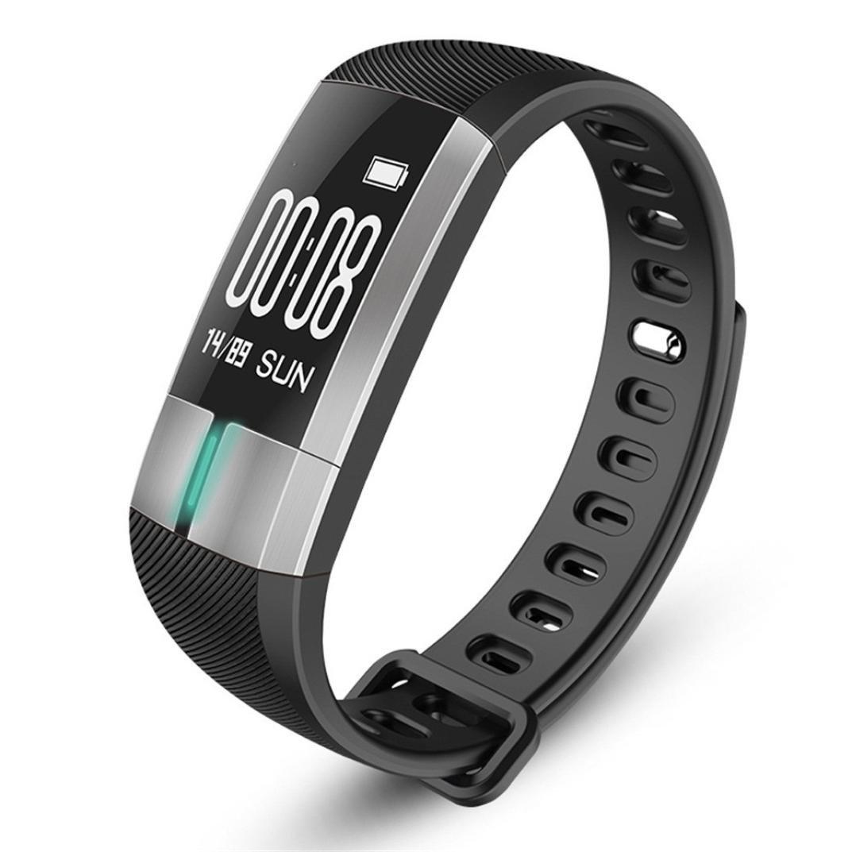 Reloj Inteligente Xinan Reloj Inteligente G20 Bluetooth Presión Arterial ECG Fecha Pulsera del Monitor de frecuencia cardíaca (❤️Negro): Amazon.es: ...