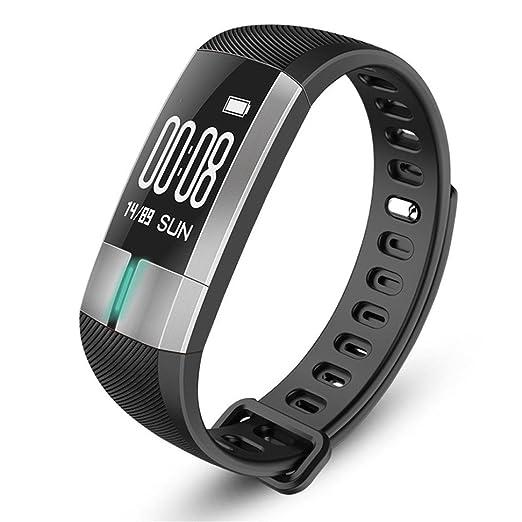 Reloj Inteligente Xinan Reloj Inteligente G20 Bluetooth Presión Arterial ECG Fecha Pulsera del Monitor de frecuencia