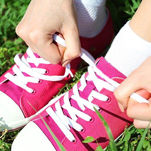 100 Chaussures Et Pour Paires Sport 12 Patins Bottes Plates De Sumind Large Colorés 8 Long Cm Les Lacets 0 Baskets 7nRwX6
