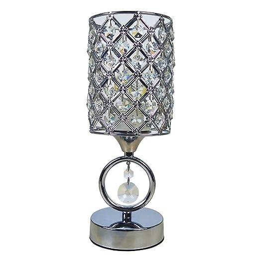 Amazon.com: hsyile ku300166 cromo moderno lámparas de ...
