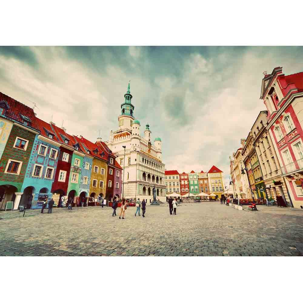 100 Year Old Hoboken Townhouse Gets Kitchen Makeover: Poznan Posen Market Square Old Town Poland Town Hall And
