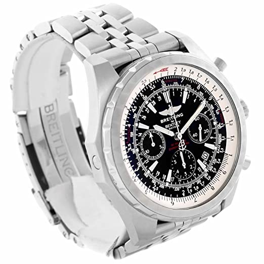 Breitling Bentley automatic-self-wind Mens Reloj a25363 (Certificado) de segunda mano: Breitling: Amazon.es: Relojes