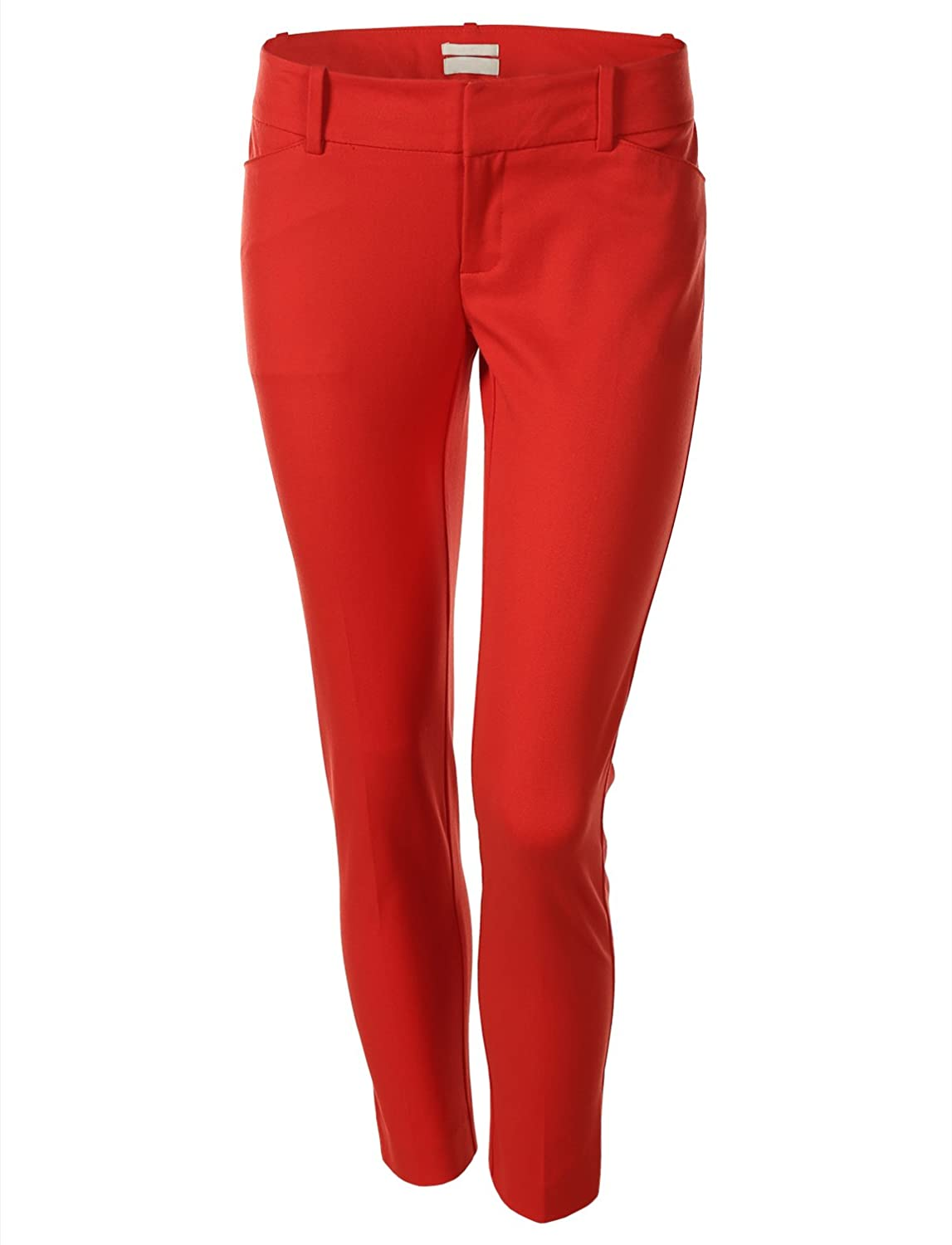 7Encounter Flat Front Skinny Leg Ankle Pants