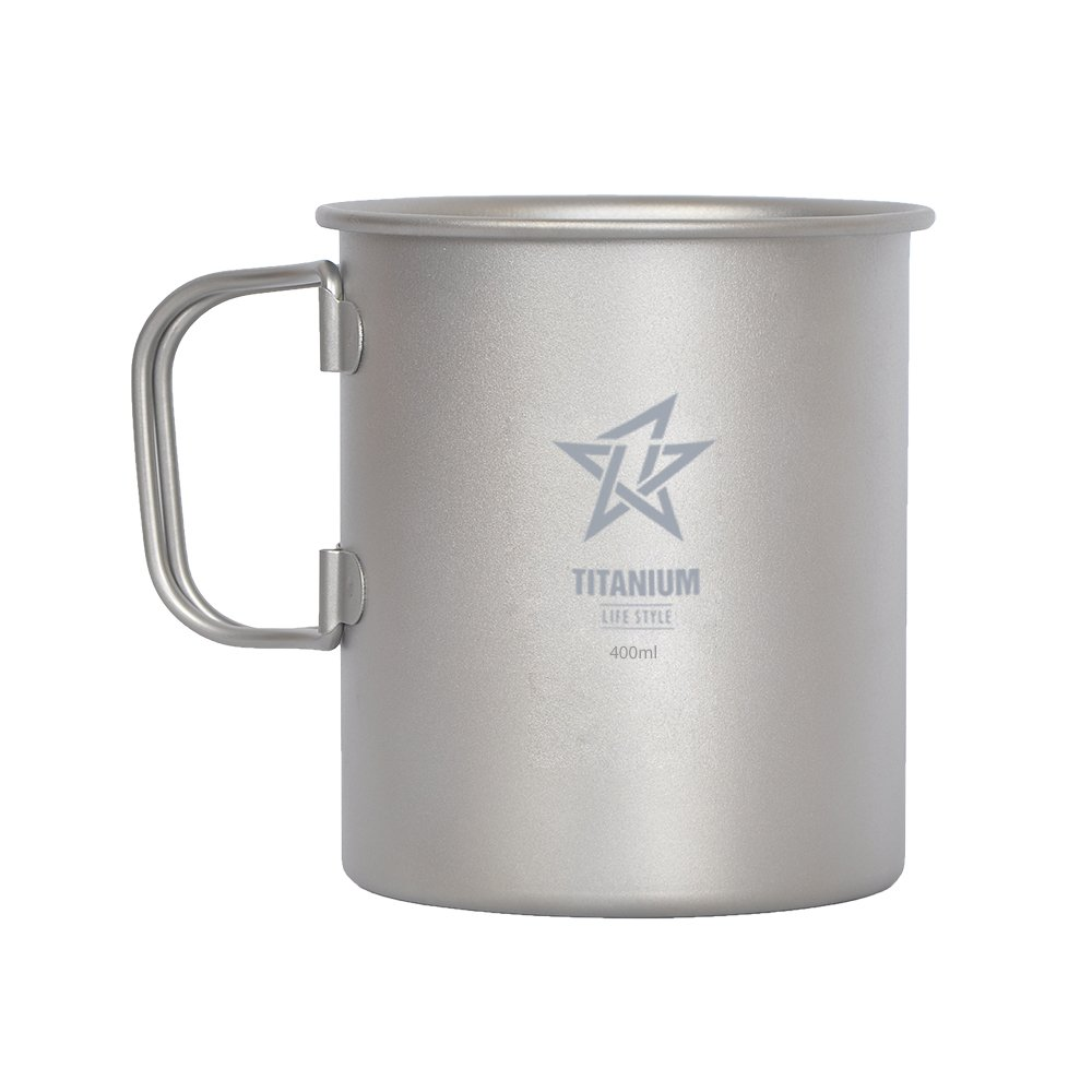 Titanium 450 Ml Mug SM450 by NikaGrace   B00U0LY6U4