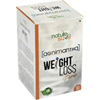 Nature Sure™ Agnimantha Weight Loss Formula for Men and Women – 1 Pack (60 Capsules)