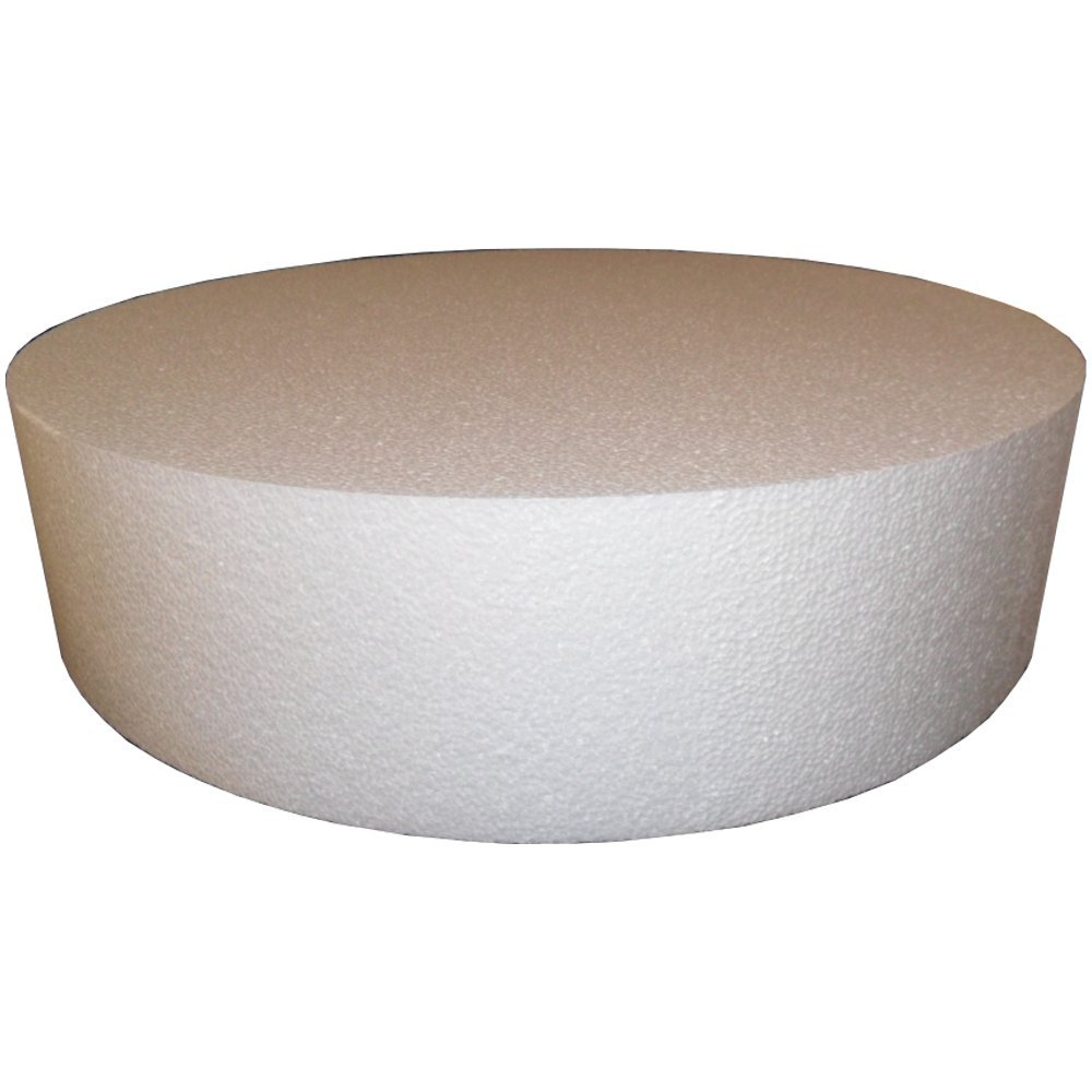 Round 4'' Cake Dummies - Pack Of 4, 14'' Round By 4'' High (all the same size)
