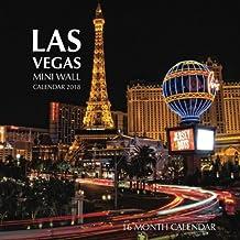 Las Vegas Mini Wall Calendar 2018: 16 Month Calendar
