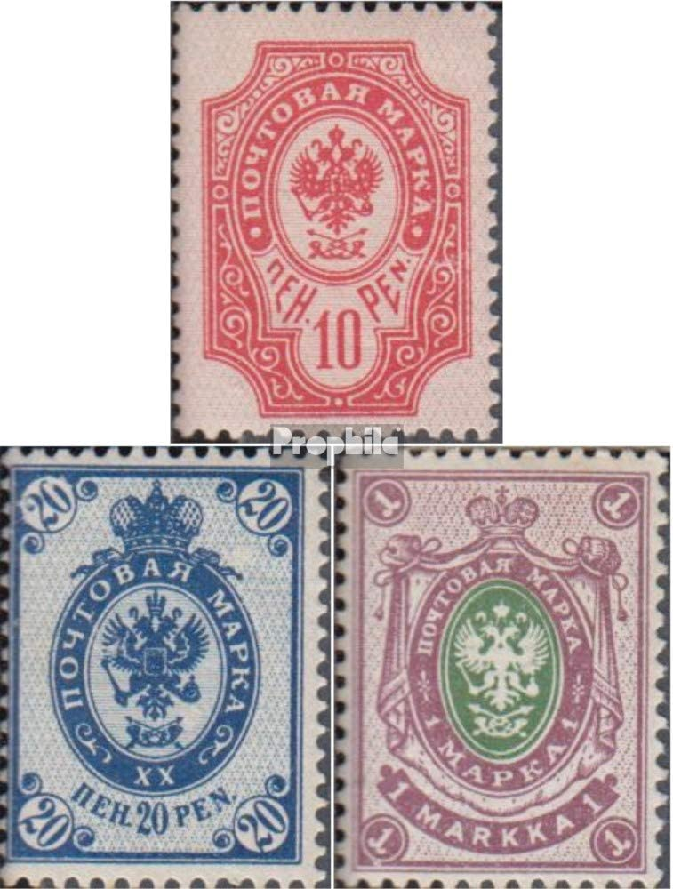 Prophila Collection Finlandia 56-59 matasellado 1901 Rusia Emblema del Estado de (Sellos para los coleccionistas): Amazon.es: Juguetes y juegos