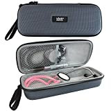 Stethoscope Case by Vive Precision - Hard Protective Carry Cover with Handle - Fits Littman, Vive Precision and Other Cardiology & Nurse Accessories (Classic Gray)