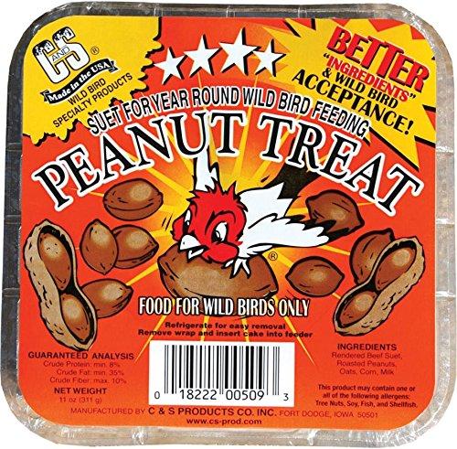 C&S Peanut Treat Suet - 11 oz.