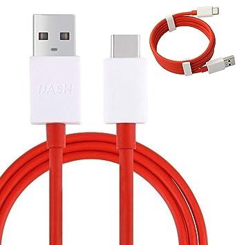 Genuino y tablero tipo C 1M rápido 4A plana maraña libre cargador plomo Cable de datos USB para uno más 3 3T 5 (No empaquetado por menor)