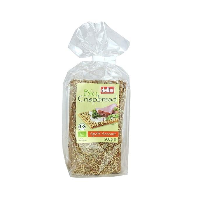 Delba - Bio Crispbread - Spelt-Sesame - 7.05 oz: Amazon.com ...