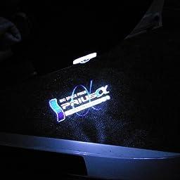 Amazon Huaye 2個ledロゴ投影 カーテシランプ トヨタエスティマ 車用 For Estima White カーテシーランプ 車 バイク