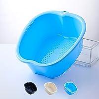 Groot voetenbad voor spa en voetmassage, dik plastic voetenbad Voetenbad Spa-kom voor pedicure-detox en massage Perfect…