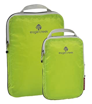 9201d0b5039e Eagle Creek Travel Gear Luggage Pack-it Specter Compression Cube Set,  Strobe Green