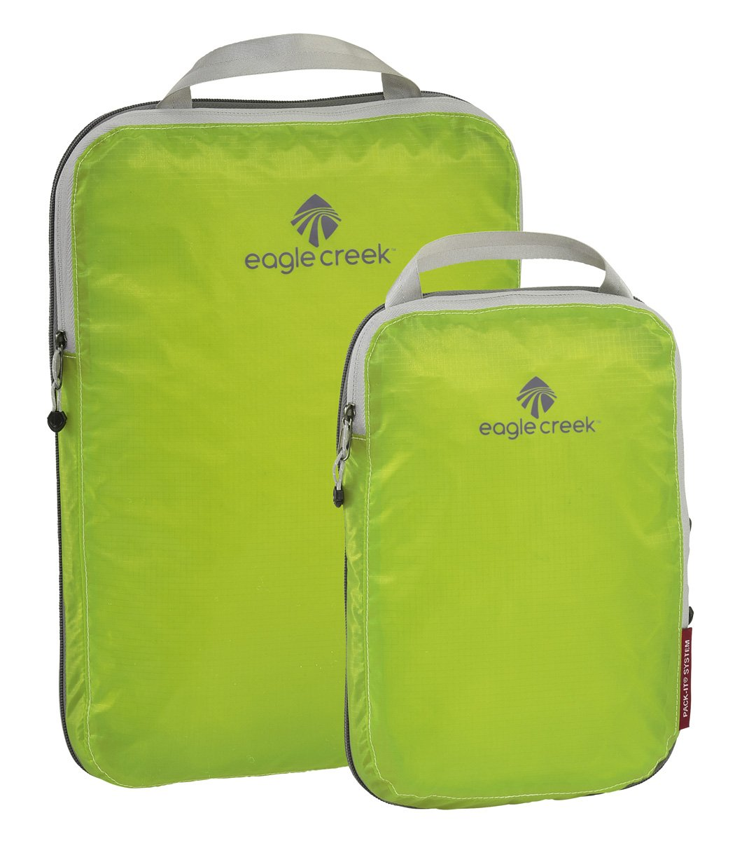 Eagle Creek Travel Gear Luggage Pack-it Specter Compression Cube Set, Strobe Green