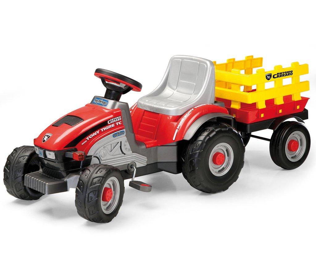 A la venta con descuento del 70%. Peg Perego IGCD0529 Tony Tigre Antonio Antonio Antonio Carraro - Tractor a pedales mini  entrega rápida