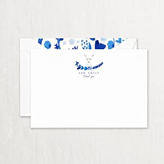 "product image for Crane & Co. ""How Sweet"" Baby Thank you Card With Lined Envelopes- Pack of 20"