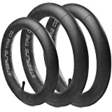 [3-Pack] Two 16'' x 1.5/1.75 Rear and One 12.5'' x 1.75/2.15 Front Premium Explosion Proof Inner Tire Tube for All BOB…