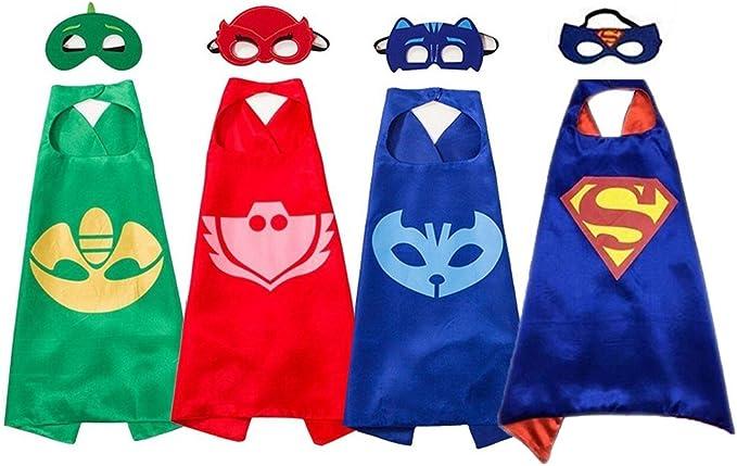 Superhero Masks Disfraces y Vestido para Niños - Capas y máscaras ...