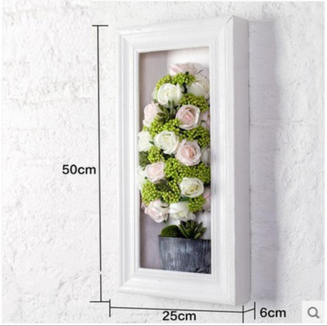 JY$ZB Simulation roses wedding background wall ornaments creative three - dimensional wall paintings , 3