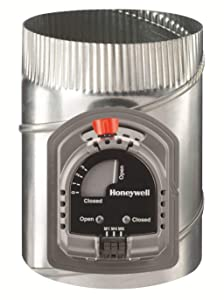 """Honeywell ARD16TZ Round Automatic Damper, 16"""""""