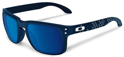 Oakley Holbrook mate azul zafiro de gafas de sol con lentes ...