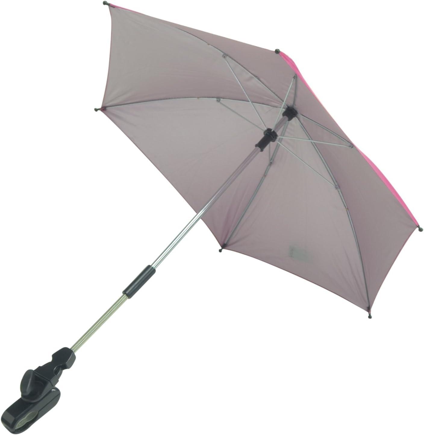 color rosa For-your-Little-One parasol Compatible con Emmaljunga Nitro ciudad
