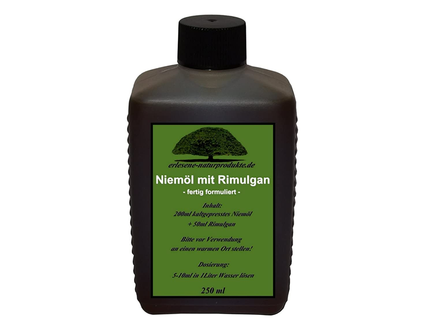 Olio di Neem solubile in acqua 250ml, die erlesene-naturprodukte: Amazon.es: Jardín