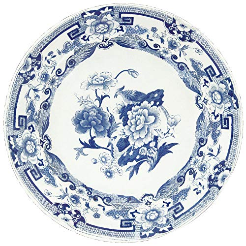 Caspari Blue & White Die-Cut Place Mats, 2 Included ()