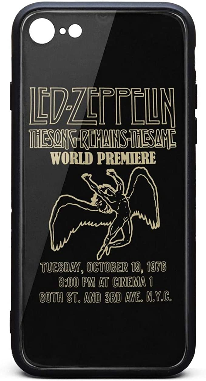 LED-Zeppelin-Space-Ship- Mobile iPhone 7 Plus Coque Antidérapante ...