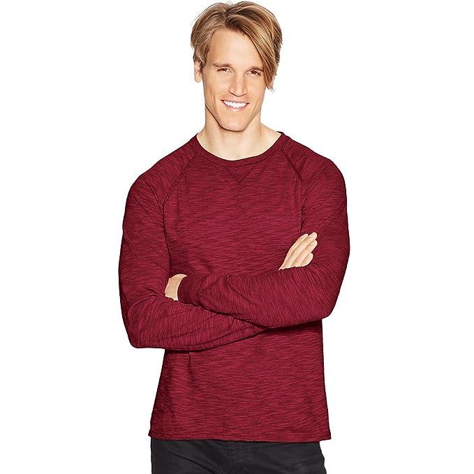 c8ceba094182 Hanes Men's Long-Sleeve Slub Jersey T-Shirt at Amazon Men's Clothing store: