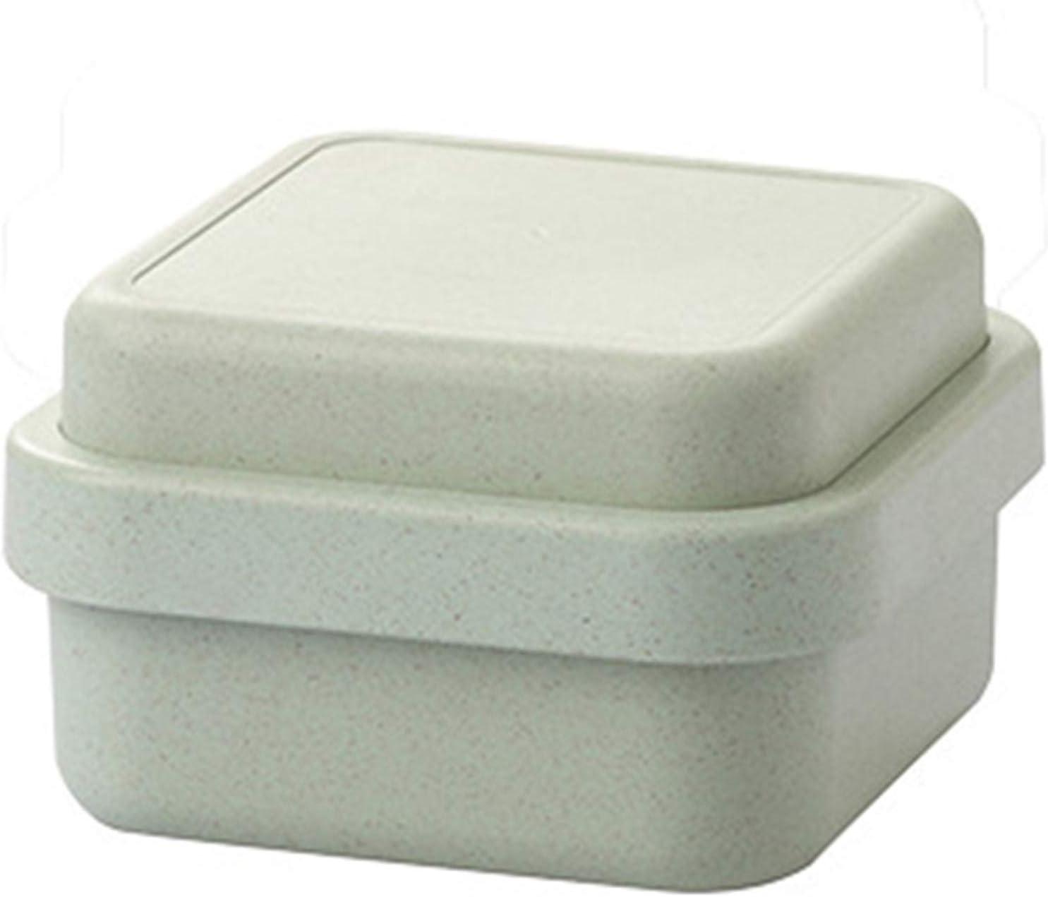 cyg Fiambrera, Multifunción Caja de Almuerzo Fibra de Bambu Lunch Box Bento Box para Microondas y Lavavajillas para Comida Caliente, Comida Caja de Bento