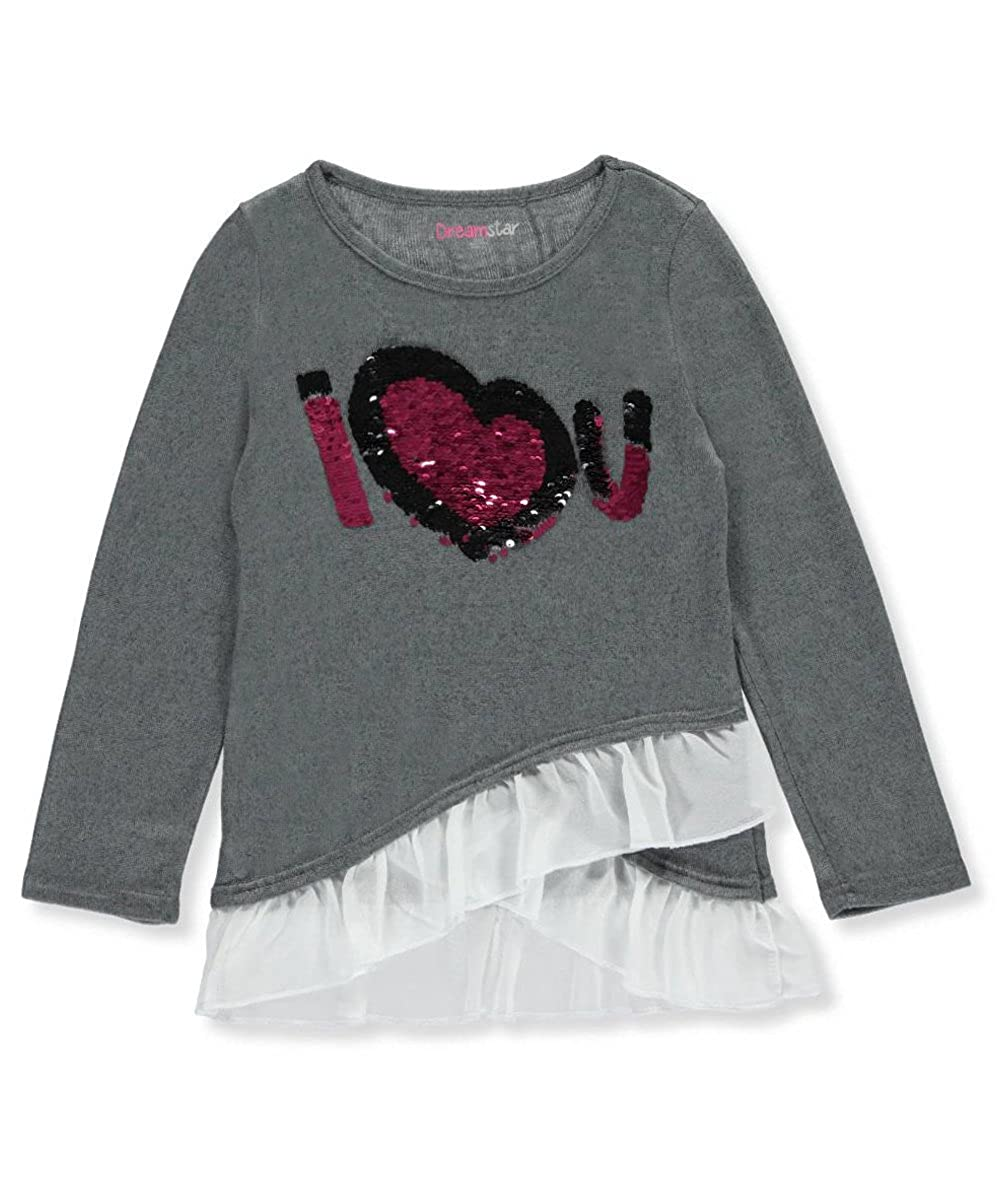 Dream Star Little Girls' L/S Shirt 4