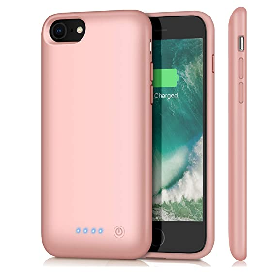 Amazon.com: Carcasa de batería para iPhone 7.: Feob Direct