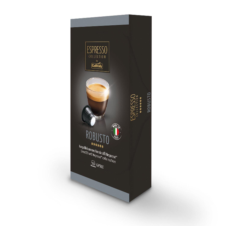 Caffitaly Nespresso cápsulas de café Gourmet, 50 unidades ...