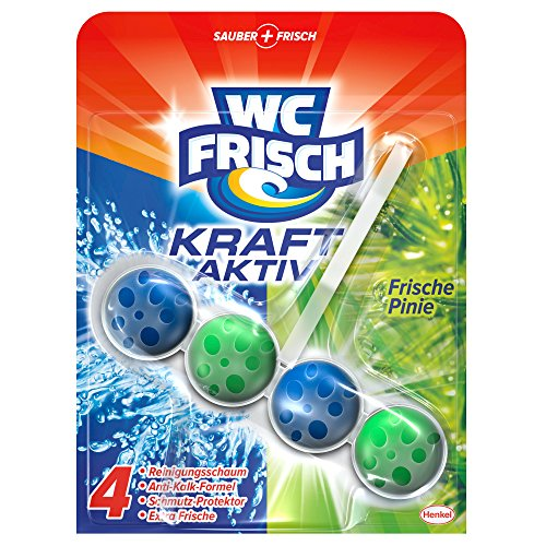 WC Frisch Kraft-Aktiv Duftspüler Pinie, WC Frische, 5er Pack (5 x 1 Stück)