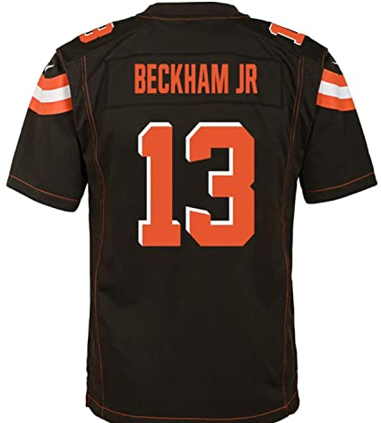 2cb0920043521 Nike Odell Beckham Jr. Cleveland Browns Youth Team Color Game Jersey