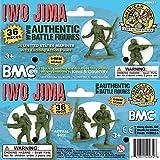 BMC WW2 Iwo Jima US Marines Plastic Army Men - 36