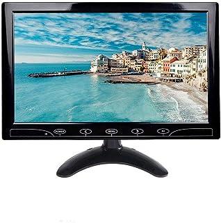 Pantalla 7 Pulgadas TFT LCD TOGUARD Pantalla UltraFina Portable Monitor Full HD 1024x600, Entrada AV/VGA/HDMI, con Botones Táctiles, Altavoz Integrado, Compatible con Cámara de Seguridad: Amazon.es: Electrónica