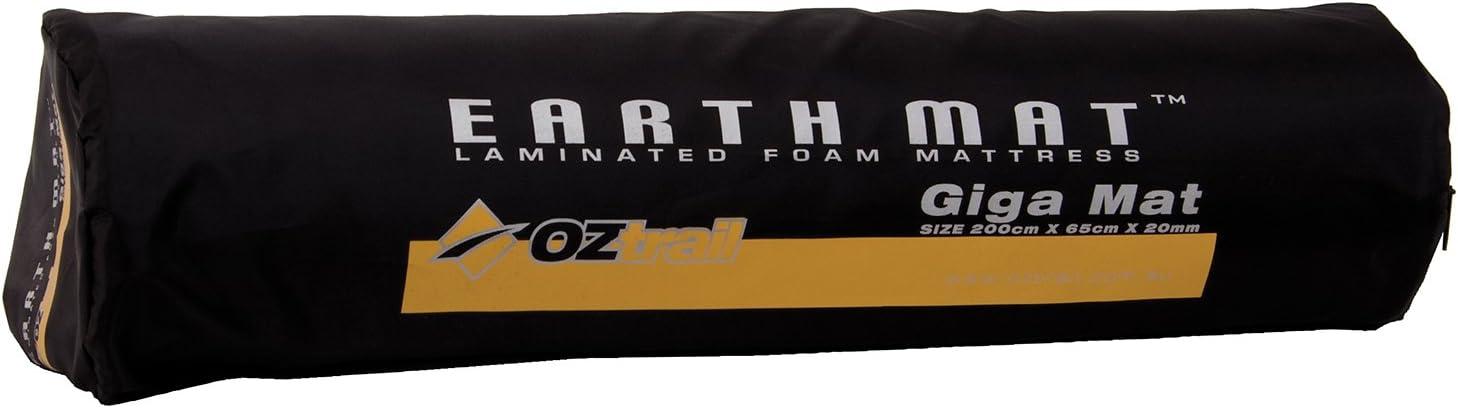 Colchoneta de espuma de 20mm Earth Mat Giga EMF-EM20-A esterilla Oztrail colchoneta de camping colch/ón aislante para acampar 200x65x2cm 1.1kg