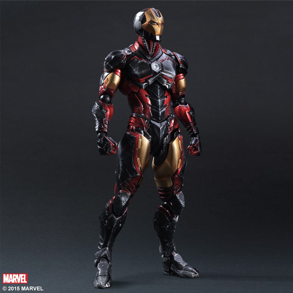 Square Enix Marvel Iron Man Variant Play Arts Action Figure