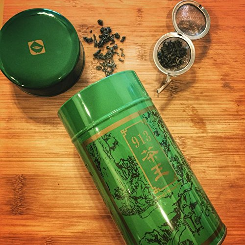 Chinese Taiwanese Tea - King's 913 Green Third Grade Tea Loose Tea / 300g / 10.6 oz by Ten Ren Tea (Image #2)