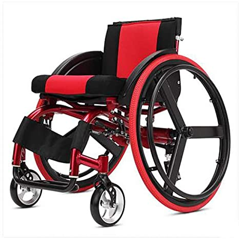 MAN Ltaqn Silla de Ruedas Plegable (Silla de Ruedas para discapacitados), sillón Deportivo