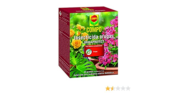 Compo Insecticida orugas (Bacillus thuringiensis aizawai): Amazon ...