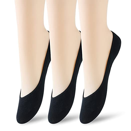 Women's No Show Socks.