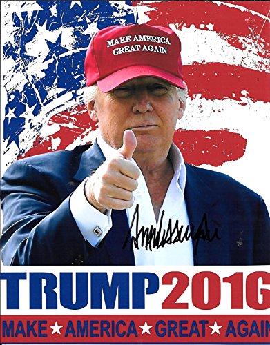 Donald Trump Autographed Signed 8 X 10 Reprint Photo – (Mint Condition)