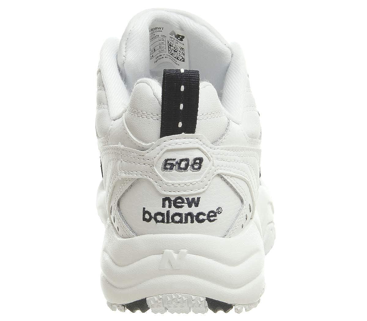 New Balance 608 608 608 Damen Turnschuhe Weiß 31e33e