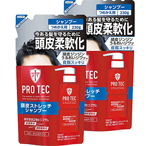 pro-tec-protection-scalp-stretch-shampoo-refill-230gx2-pack-quasi-drugs